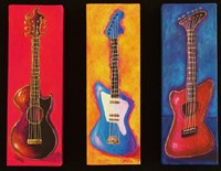 Three Guitars Fine-Art Print