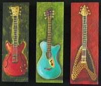 Three Guitars 2 Fine-Art Print