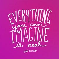 Imagine Pink Fine-Art Print