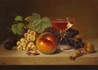 Fruit and Cocktail Fine-Art Print