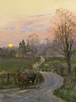 After the Barn Raising Fine-Art Print