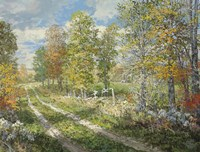 Autumnal Blind Line Fine-Art Print