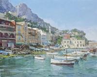 Capri Harbour Fine-Art Print