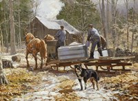 End of the Sugaring Fine-Art Print