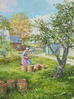 Filling the Bushels Fine-Art Print