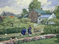 Nancy in the Garden Fine-Art Print