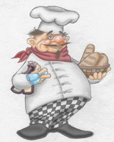 Busy Chef Fine-Art Print