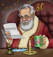 Santa's Letters Fine-Art Print