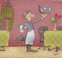 Wine Waiter Fine-Art Print