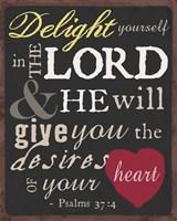 Psalm Saying I Fine-Art Print