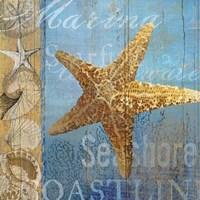Starfish and sea Fine-Art Print