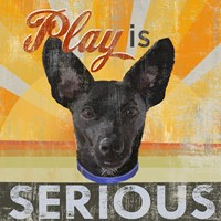 Dog Days - Liittle Black Pup Fine-Art Print
