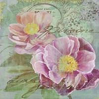 Peony Garden I Fine-Art Print