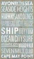 Jersey Shore Sites Fine-Art Print