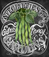 Chalkboard Green Beans Fine-Art Print