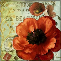 Rouge From the Garden III Fine-Art Print