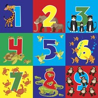 Number Puzzle Fine-Art Print