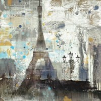 Eiffel Tower Neutral Fine-Art Print