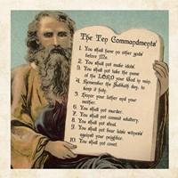 Tablets of the Ten Commandments Fine-Art Print