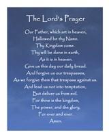 The Lord's Prayer - Blue Sky Fine-Art Print