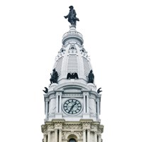 City Hall Spire I (Color) Fine-Art Print