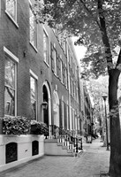 Delancy Street (vertical) (b/w) Fine-Art Print