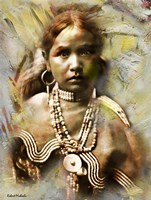 Jicarilla Maiden - Apache Fine-Art Print