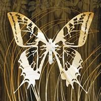 Butterflies & Leaves I Fine-Art Print