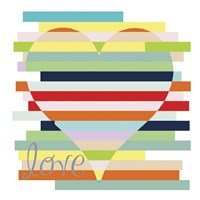 Heart Rainbow Fine-Art Print