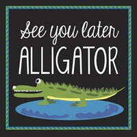 Alligator Fine-Art Print