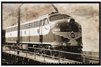 Erie Train 1 Fine-Art Print