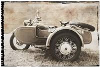 Ural Motorcycle 2 Fine-Art Print