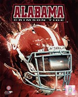 University of Alabama Crimson Tide Helmet Composite Fine-Art Print