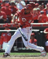 Billy Hamilton 2015 Action Fine-Art Print