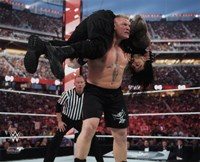 Brock Lesnar Wrestlemania 31 Action Fine-Art Print