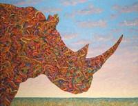Rhino-Shape Fine-Art Print