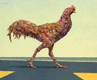 Head-on Chicken Fine-Art Print