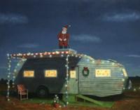 Trailer House Christmas Fine-Art Print