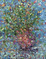 Falling Flowers Fine-Art Print