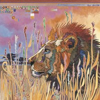 Chobe Park Lion Fine-Art Print