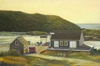 Monhegan Wharf Fine-Art Print
