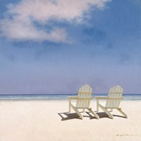 Beach Chairs Fine-Art Print