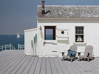 Dock House Fine-Art Print