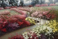 Monet's Flower Garden Fine-Art Print