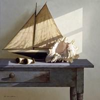 Shell & Sail Fine-Art Print
