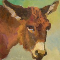 Bored Burro Fine-Art Print