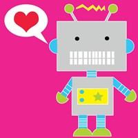 Robot - Pink Fine-Art Print