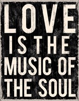 Love Is The Music Of The Soul Fine-Art Print