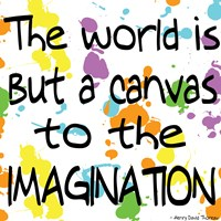 The World Is But A Canvas Fine-Art Print