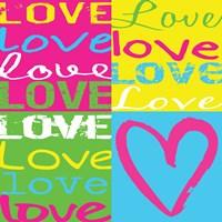 Love Squares Fine-Art Print